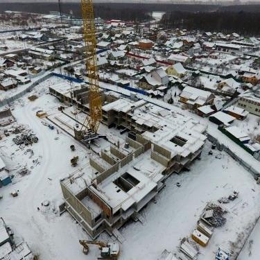 Ход строительства жилой комплекс Янинский каскад