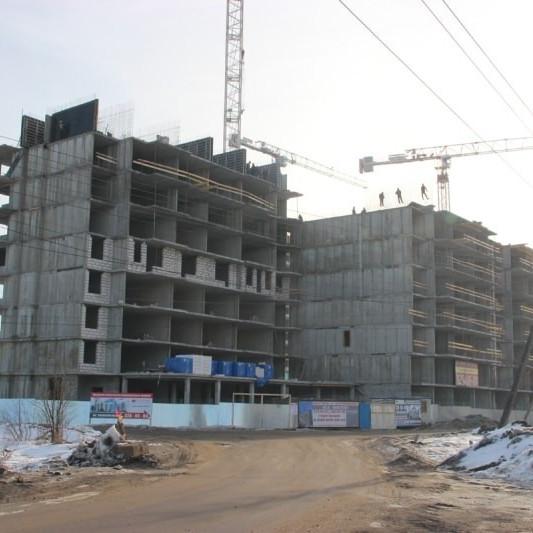Ход строительства жилого комплекса Янинский каскад
